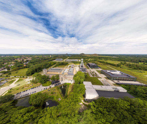 Aerial Thorpark Panorama