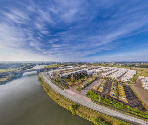 Vandemoortele aerial Panorama